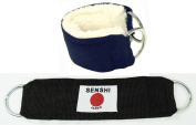 Senshi Japan Ankle Wrist Strap (Sold As Single Piece) Thick Fur Padding for cable machine leg pulley stretching