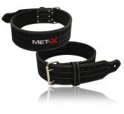 MET-X Power Lifting Men's Competition Standard Belt Black Power Lifting Belts