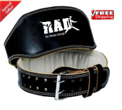 2fit Weight Lifting 15cm Cowhide Leather Belt Back Support Strap Powerlifting Gym Training Fitness Belt ,Various Colours ,Man,Women,Unisex