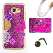 Galaxy A5 (2017) Soft Silicone Case Cover for Samsung Galaxy A5 (2017) A5 (2017) A5 Luxury Case Rainbow Glitter Shiny Glitter Bling Rhinestone TPU Silicone Case Cover for Galaxy (2017) Soft TPU Skin Bumper Case Silicone Protective Cover Scratch-Resista ..