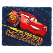 Disney's Cars 'Screeching Tyres' Latch Hook Rug Kit