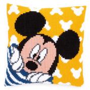 Disney's Mickey Mouse 'Peek-a-Boo' Cross Stitch Cushion Kit