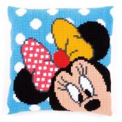 Disney's Minnie Mouse 'Peek-a-Boo' Cross Stitch Cushion Kit