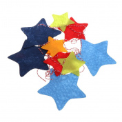 Misright Colourful Stars Garland Banner Flag Hanging Ornament Pennant Party Wedding Decor
