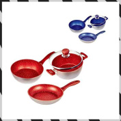 Direct tele shop flavour stone ground four points set [red]
