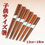 Child chopsticks woodcut print lacquer size chopsticks infant chopsticks / child chopsticks
