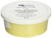 Sammons Preston Therapy Putty for Physical Therapeutic Hand Exercises, Flexible Putty for Finger and Hand Recovery and Rehabilitation, Strength Training, Occupational Therapy, 120ml, Soft, Yellow