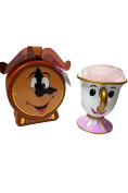 Disney Beauty And The Beast Chip Cup And Body Puff Cogs worth Bubble Bath Set