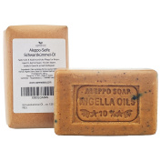 """Olive Black Carraway Black Cumin Oil Soap """"Aleppo"""" 65% Oliveoil 25% Laurel Oil, 10% Black cumin Oil, 2x130 g - for skin, hair, body and face natural soap"""