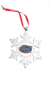 FLORIDA GATORS NCAA SNOWFLAKE CHRISTMAS ORNAMENT