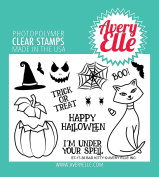 Avery Elle Clear Stamp Set 10cm x 7.6cm -Bad Kitty