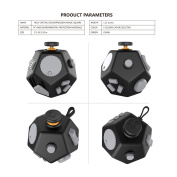 Fidget Toy Decompression Cube Relieves Anxiety And Stress For Children Teens Adults,Easy To Carry And Use