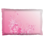 Pink Ombre Day Dream Pillow Case Multi Standard One Size