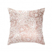 Decorative Throw Pillow Case Geometric Striped Flower Home Sofa Cushion Cover