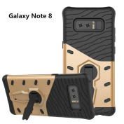 Galaxy Note 8 Case, VPR Premium Dual Layer Durable Armour with Full Body Protective and Heavy Duty Protection and 360 Degree Rotating Kickstand Cover for Samsung Galaxy Note 8 (2017)