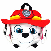 Paw Patrol Childrens/Boys Official Marshall Shaped Plush Backpack