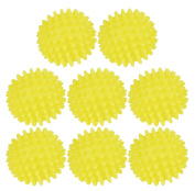 Set of 8 Quality Dryer Balls - Softens Fabrics Naturally - Reusable - Hypoallergenic - Cuts Drying Time!