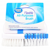 Great Value Flexible All-Purpose Brush with Removable Handle, 1 Brush
