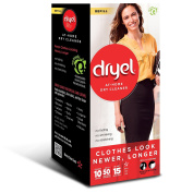 Dryel CRB-11809 At-Home Dry Cleaner Refill Kit,10 Loads