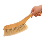 HaloVa Counter Duster, Soft Bristles Debris Dust Hair Cleaning Brush with Wood Handle for Bed Sheets Clothes Sofa Carpet