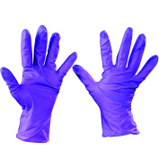 Ship Now Supply SNGLV2001L Kimberly Clark Nitrile Gloves, Large, Purple