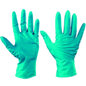 Ship Now Supply SNGLV2007S Ansell Touch N Tuff Nitrile Gloves, Small, green