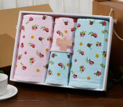 Easy Care Roses Gauze Towels Mianjin Gift Boxes Gift In Return Increase Thickening Soft Water Absorption Water absorption
