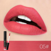 8 Colours Lip Glosses Professional Girls Make-up Lipstick Long-lasting for Women by TOPUNDER W