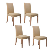 Inroy Chair Cover Stretch Short Dining Room Seat Slipcover