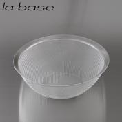 (la base) stainless steel-maru colander size 27cm LB-003 Yoko Arimoto design peace fixed phrase JAN