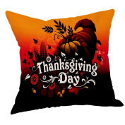 Thankful Soft Pillow Case Newest , Happy Thanksgiving Pillow Cases Linen Sofa Cushion Cover Home Decor