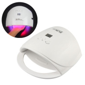 Nail Dryer,Putars 48W Professional Led UV Lamp For Nails Ultraviolet Lamp For Gel Varnish Home Drying White