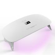 Norwheel 24W LED UV Nail Dryer Curing Lamp for Fingernail & Toenail Gels Based Polishes, Eye and Skin Friendly