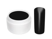 Purenail Colour Nail Gel 5 Ml - Matte Black