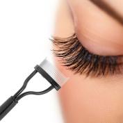 Fabal Eyelash Comb Lash Separator Mascara Lift Curl Metal Brush Beauty Makeup Tool