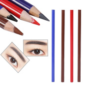 Eyeliner, Lip Liner Tattoo Positioning Pen Beauty Makeup Waterproof Eyebrow Pencil Brown Black Red Grey 4 PCS Fashional Colours Ultra Fine Lip Liner