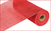 Deluxe Wide Foil Poly Deco Mesh, 25cm x 10 Yards