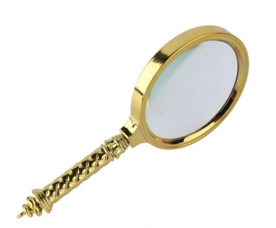 Handheld Magnifying Glass HD Magnifying Glass Elderly Reading Magnifying Glass Read Glass Magnifying Glass