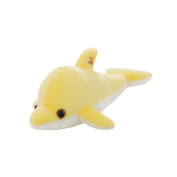 SMYTShop 32cm/12.5 Inches Moon Dolphin Luminous Plush Toys 7 Colour Can Change Led Light Pillow Cushion Children Party Birthday Gift