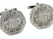 Mens 30th birthday gift present in 2017 Coin Cufflinks Quality 1987 birth year