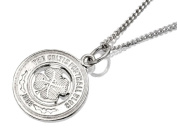 Sterling Silver Celtic FC Pendant And Chain