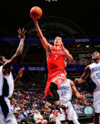 Jeremy Lin Houston Rockets 2012 NBA Action Photo #1 8x10
