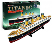 TITANIC RMS Royal Mail Ship Collectible Fun Educational 3D Assembly Puzzle Model Toy 35 pieces
