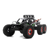 Virhuck V02 1/12 Scale 6WD High Speed RC Truck, 2.4GHz Off-road Vehicle Rock Crawler RC Car Racing Car 37MPH