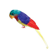U.S Toy Company Feather Parrot Toy, 30cm
