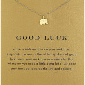 HENGSONG Necklace Pendant Necklace With Message Card Chain Necklace Jewellery Gifts, Gold Plate