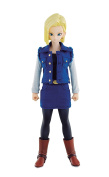Dimension of DRAGONBALL Android #18 About 18.5 cm PVC & Polyester & ABS Painted Action Figure