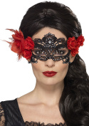 Smiffy's 44958 Day of the Dead Lace Filigree Eye Mask