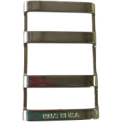 3-Slot Stainless Steel Buckle