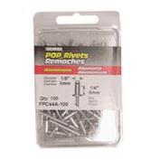 Fpc FPC44A-100 100-Pack Medium Aluminium Rivets